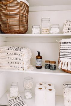 It's that time of the year! Find all the essentials and more for cleaning up your closets at World Market, always at a cost-friendly price. Style Ibiza, Linen Closet Organization, Bathroom Organization, Bathroom Storage, Home Board, Affordable Home Decor, Elegant Homes, World Market, Diy On A Budget