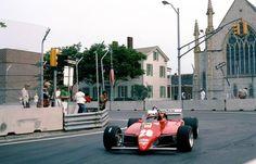 Didier Pironi, Ferrari 126C2, 1982 Detroit Grand Prix