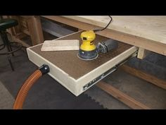 How to Build a Down Draft Sanding Table - YouTube