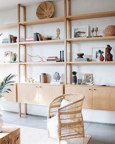 Home Decor Styles, Cheap Home Decor, Regal Design, Modern Design, Design Design, Design Trends, Design Ideas, Design Inspiration, Living Room Shelves