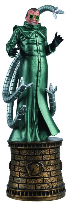 Eaglemoss Marvel Comics Chess Doctor Octopus Figurine  #fanboycollect www.FanboyCollectibles.com