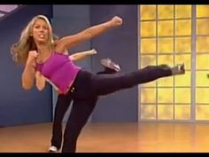 "Burn fat and lose weight with this 12 minute cardio kickboxing workout. This exercise video will tone your butt, legs and abs while burning mega calories! Get fit with Denise Austin's Cardio Kickbox Burn workout on YouTube!    This workout is from Denise Austin's DVD ""Get Fit: Daily Dozen"".    For full selection of great workouts like this one, go t..."