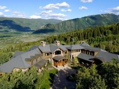 12,000 square ft  & access to Buttermilk Mountain in Aspen, Colorado for a cool $17.85 million!