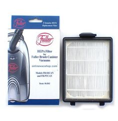 FULLER,FILTER,HEPA BRUSH FB-PT2 CANISTER#06.061 >>#Fuller #VacuumFilters