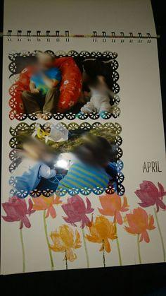 Kalender, April, Stampin Up