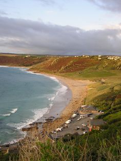 Sennen is home to the First and Last Inn in England and has a beautiful long sandy beach that is very popular with surfers and families alike.