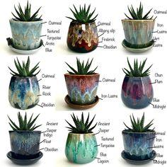 Glazes For Pottery, Ceramic Pottery, Ceramic Art, Cactus, Ceramic Glaze Recipes, Amaco Glazes, Ice Cream Pops, Wheel Throwing, Clay Mugs