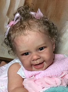 Maizie Reborn Lifelike Baby Doll Girl By Andrea Arcello