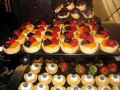 Delicious dessert tray.