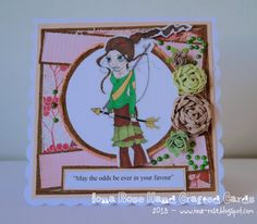 OOAK  Hunger Games Handmade Card by IonaRose on Etsy, £3.00