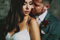 Wedding Dress: Jacinda Gown By Watters - http://www.stylemepretty.com/portfolio/jacinda-gown-by-watters Photography: Josh Dookhie Photography - http://www.stylemepretty.com/portfolio/josh-dookhie-photography Read More on SMP: http://www.stylemepretty.com/canada-weddings/2015/05/27/romantic-manitoba-summer-garden-wedding/