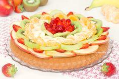 Crostata morbida alla frutta con crema al limone