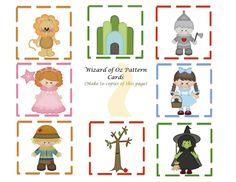 Wizard of Oz Coloring Page | Worksheets, Activities and Social work