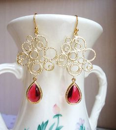 Valentina Chandelier Earrings ($44) are featured on the Bayside ...
