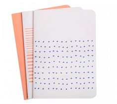 A5 ESSENTIAL NOTEBOOK 3PK: MAKE YOUR MARK: I always keep a notebook with me for every errant thought that needs to be recorded!