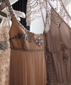 amazing beaded dresses