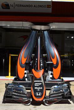 In the McLaren Paddock ahead of the 2015 #F1 Spanish GP