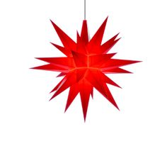5 in. red plastic (small star)