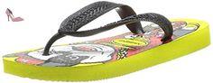 Havaianas Kids Skate, Sandales pour garçon - Multicolore - Neon yellow, 27/28 - Chaussures havaianas (*Partner-Link)
