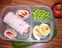 Product Review: Lunchboxes - 100 Days of Real Food - lookin' pretty high protein low carbie :)