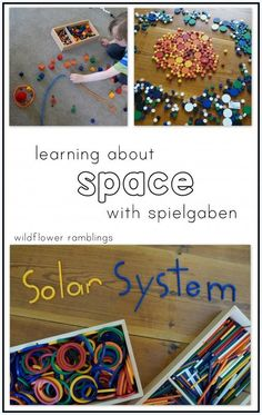 learning about space with spielgaben - Wildflower Ramblings
