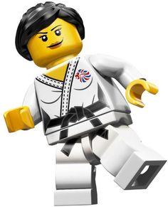 LEGO Judo Fighter Olympic Minifigure