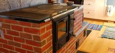 Way more efficient that the classic American metal stove—you can cook on these or they can serve as a small heater.