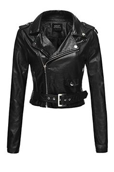 Basic Faux Leather Crop Moto Rider Belted Jackets (8AAD) ... http://www.amazon.com/dp/B017AMLMDE/ref=cm_sw_r_pi_dp_mt4vxb0D6YWN9