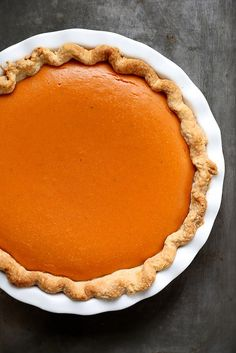Dad's Perfect Sweet Potato Pie by joy the baker, via Flickr
