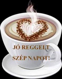 Good Morning, Mugs, Tableware, Mornings, Buen Dia, Dinnerware, Bonjour, Tumblers, Tablewares