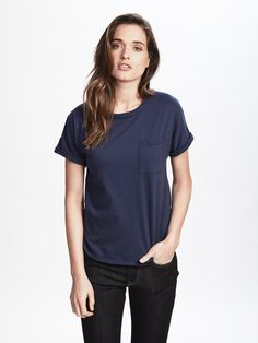 Thoughtful and conscious from concept through production, Zady's .02 The T-Shirt is our take on the quintessential piece. Designed with timeless style in mind, every detail of its construction, from the neckline to the hemline is chic, flattering and considered. Our t-shirt starts with pure, USDA organic cotton that is grown and ginned in Texas and then spun, knit, cut, sewn and dyed in North Carolina. #holiday #gift #gifting