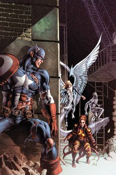 Captain America and the X-Men