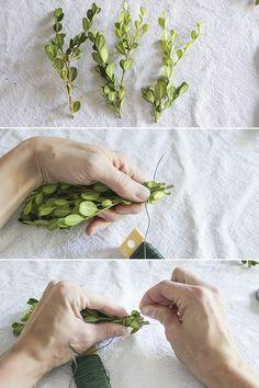How to Make a Boxwood Wreath | eHow