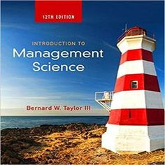 Download solution manual for introduction to management science 11th solution manual for introduction to management science 12th edition by taylor fandeluxe Choice Image