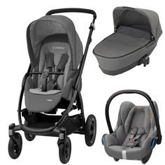 Maxi-Cosi Stella Cabriofix Travel System Package (Concrete Grey)