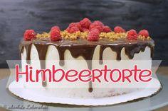 himbeertorte backen, himbeer mascarpone torte, sahnetorte dekorieren, dripping cake, deutsch, geburtstagstorte, backen, selber machen
