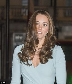 The Duchess effect: Amazon have reported that sales of brown hair dye and round brushes have soard