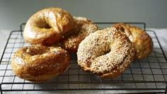 Cheddar and chipotle bagels #gbbo