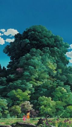 """My Neighbor Totoro となりのトトロ"" by Kazuo Oga* // Ghibli wallpaper Art Studio Ghibli, Studio Ghibli Movies, Studio Ghibli Background, Animation Background, Personajes Studio Ghibli, Bd Art, Bg Design, My Neighbor Totoro, Anime Scenery"