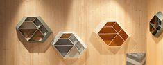 Patricia Urquiola: Bookcase, Earthquake 5.9  - Budri - Italian Marble Inlay