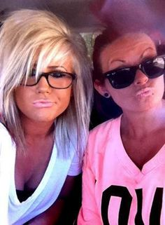 Love The Hair On Left Minus Duck Face And Oompa Loompa Skin