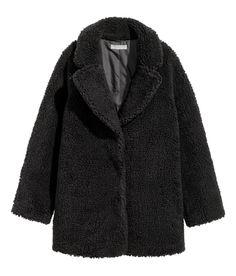 Wool-blend Biker Jacket | Warm in H&M