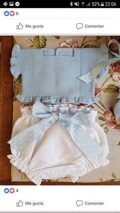Easy Crochet Blanket, Crochet Baby, Tricot Baby, Baby Boy Bibs, Baby Doll Clothes, Unisex Baby, Baby Love, Boy Fashion, Baby Knitting