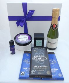 This is the ultimate in pampering gifts for a new mum in fact all mums would appreciate what comes in this hamper - the opportunity to relax and and treat themselves to some 'me' time. From £40 + delivery