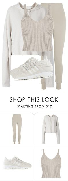 Untitled #3235 by xirix on Polyvore featuring Faith Connexion, WearAll, Bottega Veneta, adidas, women's clothing, women's fashion, women, female, woman and misses