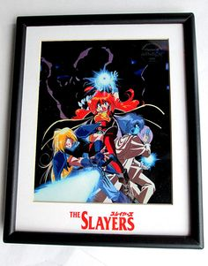 The Slayers Chroma-Cel Limited Edition 5000 Series #slayers #anime #collectible #limited #