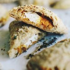 Squash and Goat Cheese Empanadas   Culture: the word on cheese