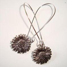 Sunflower Earrings - Bridesmaid gift?