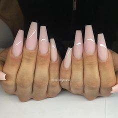 """1,286 Likes, 11 Comments - Bano Betweni (@nailsbybano) on Instagram: """"Frosted pink ✨"""""""