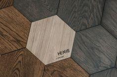 Curonians Design Hexagon Parquet #parquet #woodenfloor #hexie #curonians #designparquet #interiordesign #architecture #hexagon #hexagonparquet